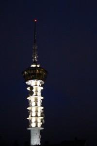 Tyholttårnet za tmy