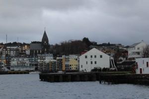 Kristiansund z loďky