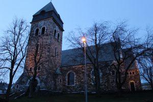 A kostol na záver, tých majú v Nórsku hodne